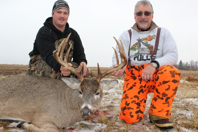 Stanley Rusnica Buck 2014 - With Guide Mike