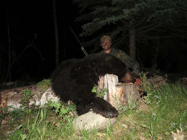 Austin Taylor and his 2015 bear