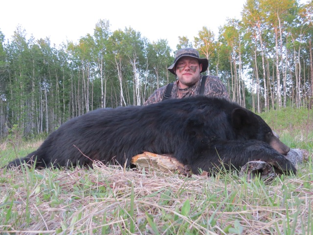 Craig with his 2015 Black Bear