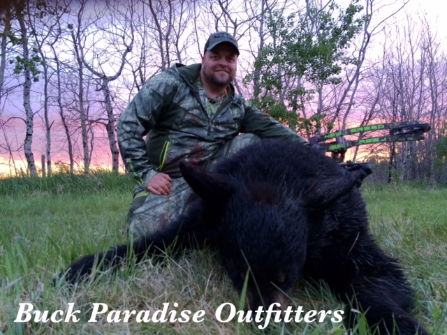 JT Harden with his 2015 Bear