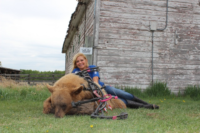 Kristi Bordelon and her 2015 Bear