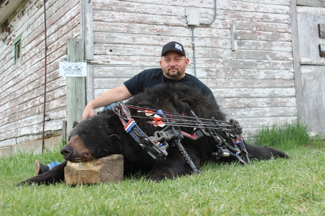 Rock Bordelon and his 2015 Bear