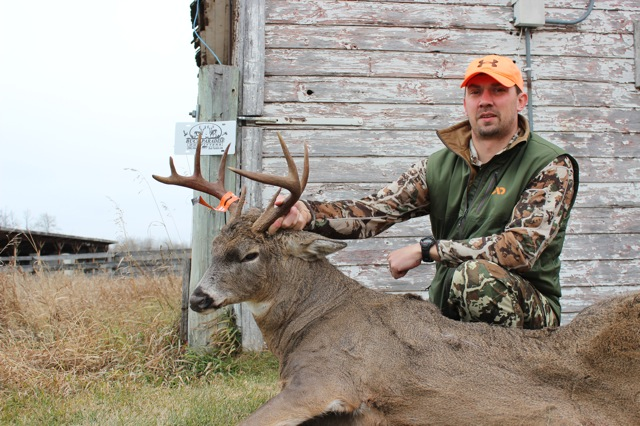 Jeremy and his 2015 Buck