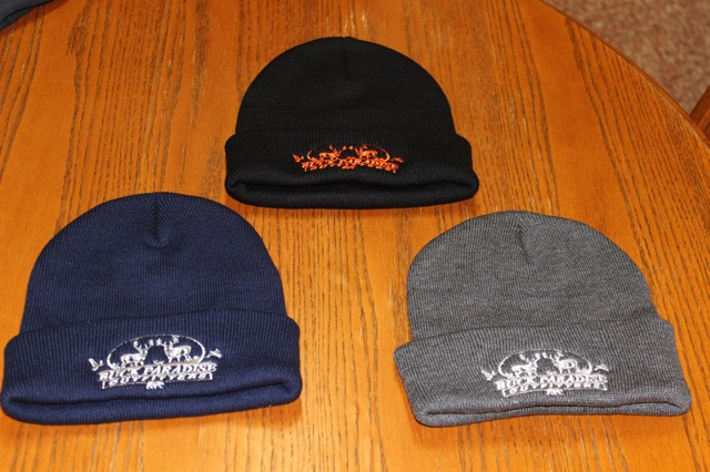 Toques; Black, Navy & Grey