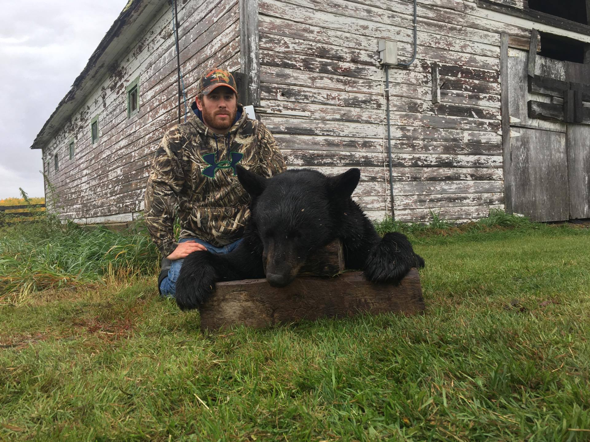 James with his 2016 black bear