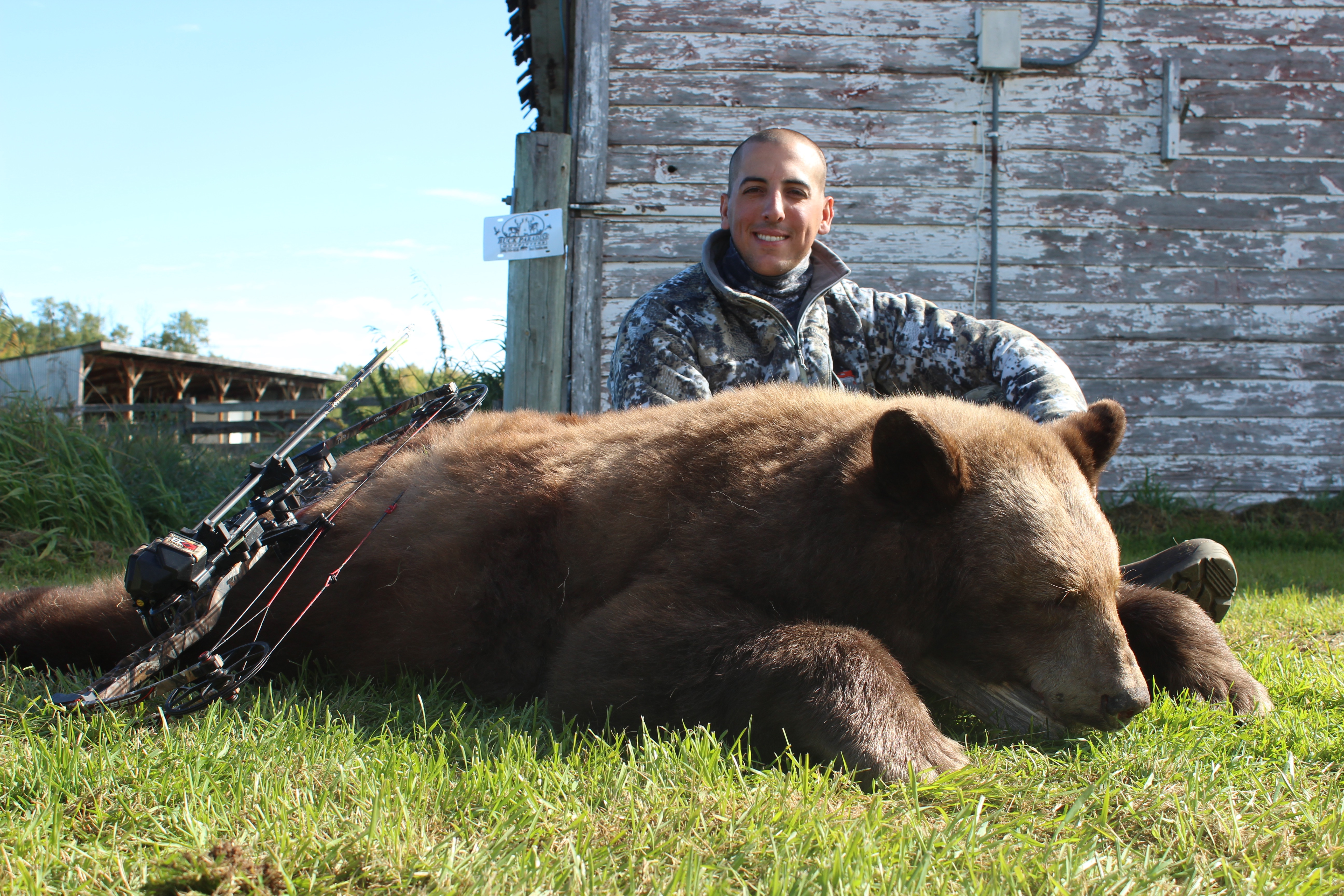 Rob and his 2016 Bear