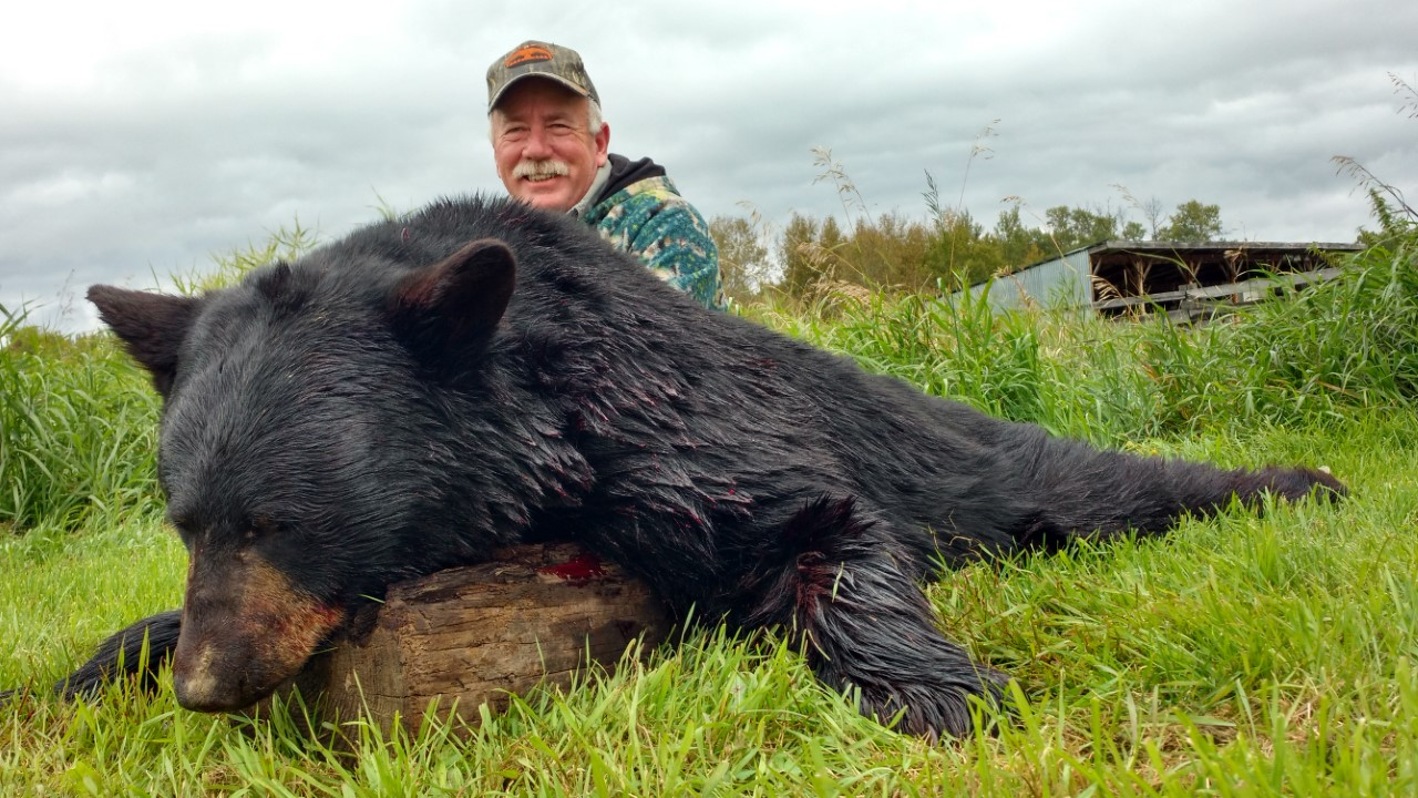 Ron with his 2016 Black Bear