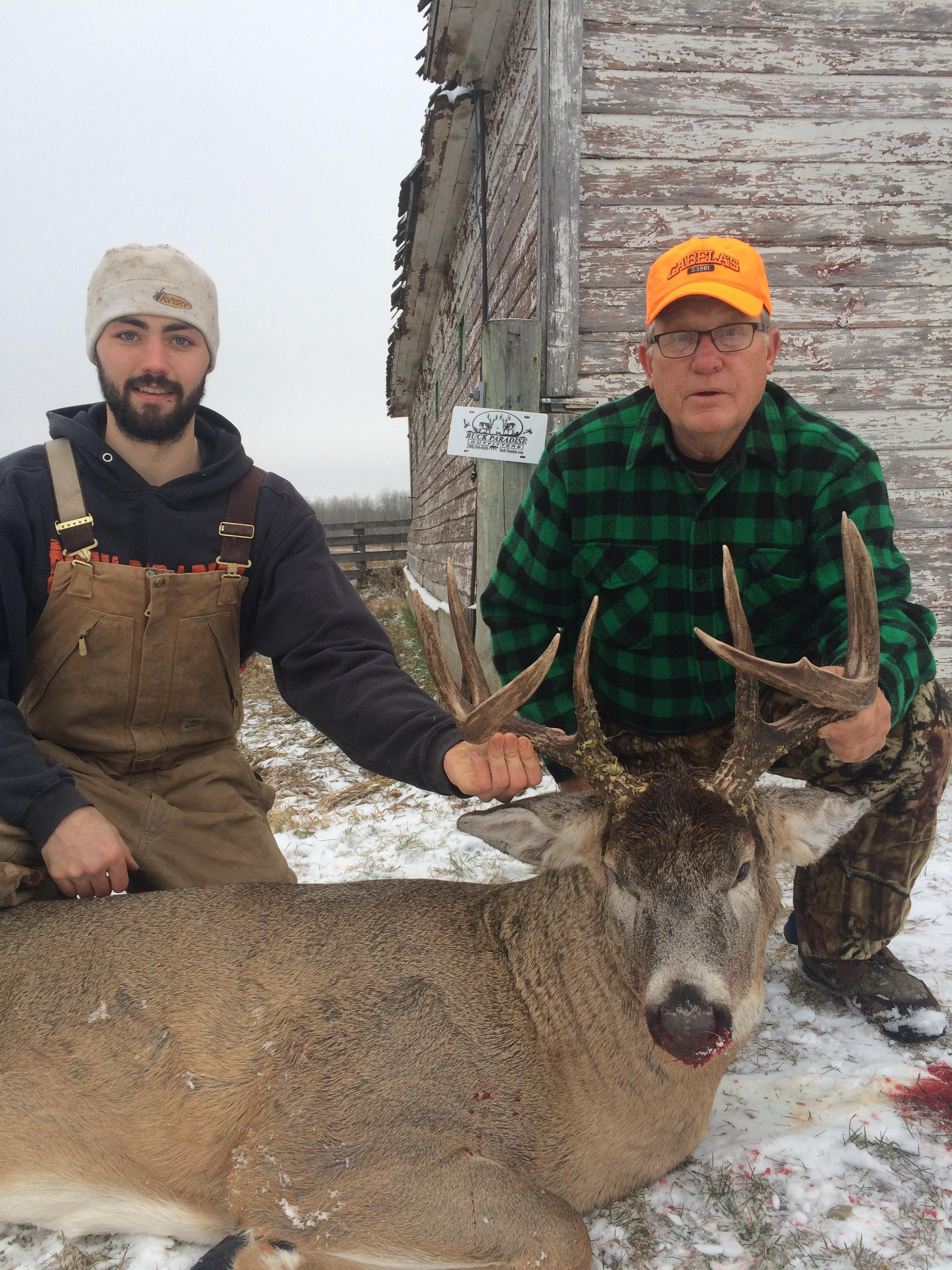 Guide Garet with Hunter David Hussel